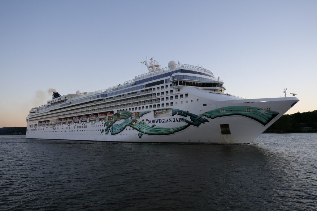norwegian jade cruiseschip