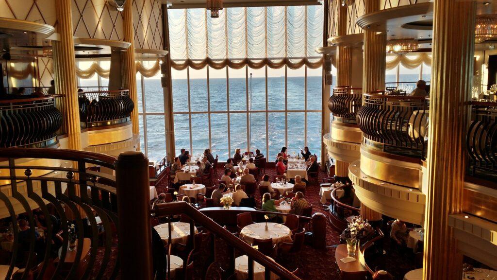 uit eten op cruise
