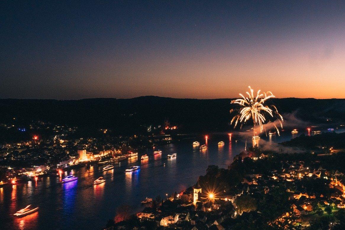 Nieuwjaarscruise over de Rijn 2019/2020 oad
