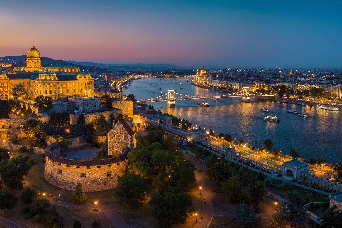 Kerstcruise over de Donau oad